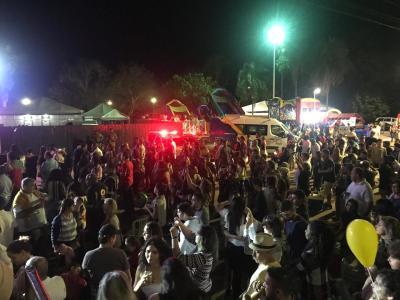 O festival teve um público estimado de 20 mil pessoas por dia de evento.