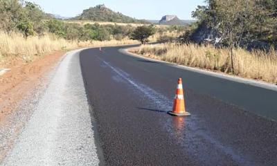 Um dos trechos que também estará recebendo a sinalização é da rodovia TO-110, de Dianópolis a Novo Alegre, na divisa com Goiás.
