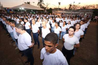 Nova unidade do Colégio Militar inaugurada em Palmeirópolis atenderá 490 alunos
