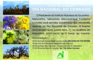 Programação em comemoração ao dia do Cerrado