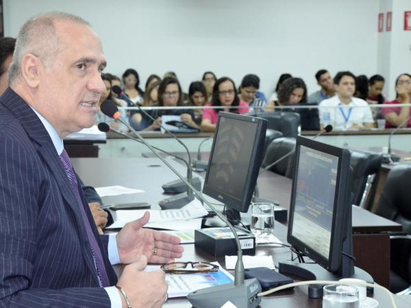 Secretário apresentou as diversas estratégias e planejamentos adotados na Saúde Estadual que está proporcionado o aumento das cirurgias e melhorias nos atendimentos