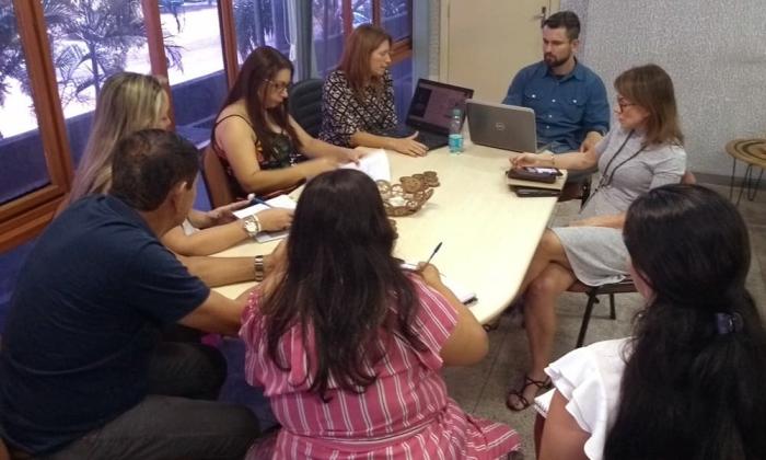 Durante reunião, equipe começou a definir rumos do Observatório do Turismo