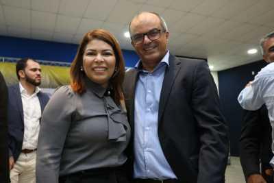 A titular da Seduc, Adriana Aguiar, e o professor da Universidade de Gurupi, Antônio Sávio, falaram sobre a importância do Comitê