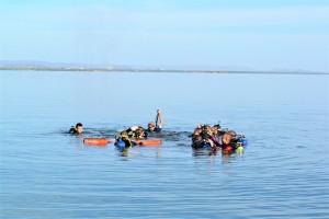 Curso entra na fase intermediária com prática no Lago de Palmas