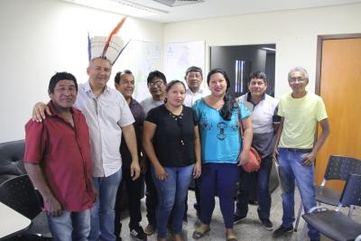 Reunião entre indígenas e representantes do Governo aconteceu na manhã desta quarta-feira