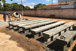 nstalação das vigas de concreto será iniciada na segunda-feira, 16; serão investidos na obra R$ 28,8 mil