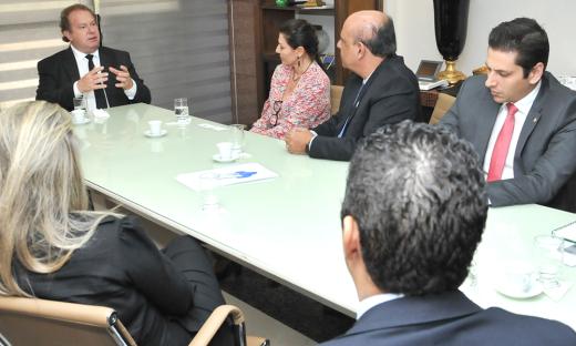 Também participaram da reunião os gestores estaduis: Rolf Vidal, Juliana Matos, Romis Silva e Sebastião Albuquerque