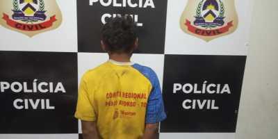 Polícia Civil prende suspeito de estupro em Pedro Afonso - DICOM SSP.jpeg