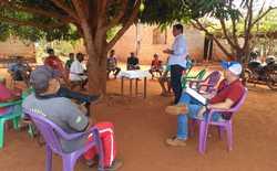 Associação Bons Amigos foi uma das comunidades visitadas