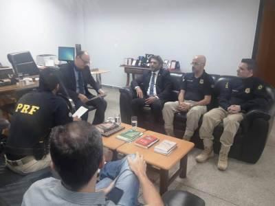 Segurança Pública do Tocantins e Polícia Rodoviária estreitam relações institucionais - Shirley Cruz.jpeg