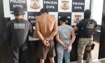 Casal do Maranhão investigado por tráfico interestadual de drogas e associação ao tráfico é preso pela Polícia Civil do Tocantins