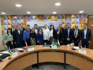 Governador Mauro Carlesse recepciona presidentes de Juntas Comerciais do Brasil