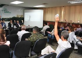 Membros do conselho participam da 56° reunião ordinária do Coema.