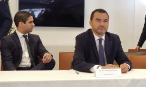 O vice-governador, Wanderlei Barbosa representou o Governo do Tocantins com os embaixadores europeus