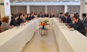 Representantes dos nove estados da Amazônia Legal se reuniram em Brasília com embaixadores da Noruega, Reino Unido, Alemanha e França