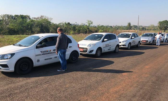 Equipe da AEM faz verificação inicial dos taxímetros em Araguaína