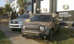 Dois carros utilitários são apreendidos pela Polícia Civil na Capital