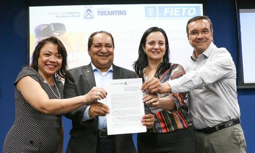 Governo do Tocantins por meio da Setas assina Termo de Cooperação Técnica