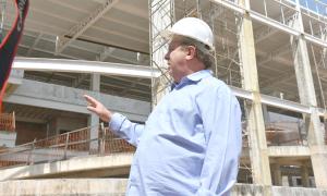 Construção do Hospital Geral de Gurupi será uma das obras que o Governo dará continuidade com recursos do empréstimo da Caixa Econômica Federal