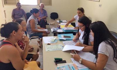 Recadastramento de famílias da Vila Flamboyant em Miracema