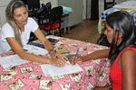 Recadastramento de famílias da Vila dos Funcionários da Dertins em Gurupi