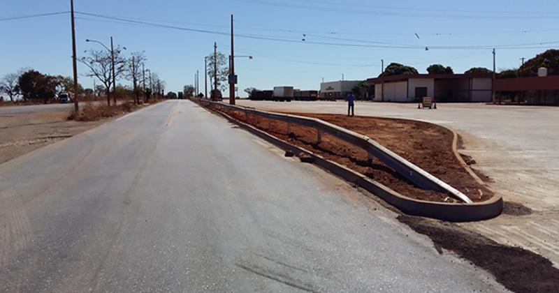 Obra já está com 92,27% dos serviços executados e inclui a construção de pavimento novo