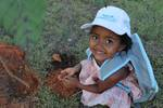 Uma das ações realizadas pelo programa é o plantio de mudas de árvores nativas do cerrado