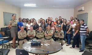 Encontro aconteceu na sede do 6º Batalhão da PM em Palmas