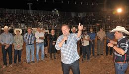 Governador do Tocantins, Mauro Carlesse,  prestigiou nesta quinta-feira, 19, a 28ª Exposição Agropecuária de Alvorada, no sul do Estado