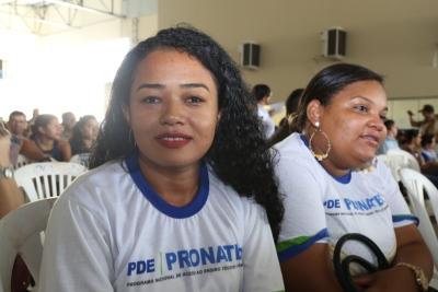 Maíza Ramos Gouveia destacou que os cursos ajudam a melhorar o currículo