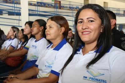 Para Marilene Fernandes de Araújo, o curso de Cuidador de Idosos ajudou no seu aperfeiçoamento profissional