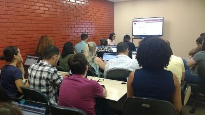 Treinamento para utilização do SAP na sede da Controladoria