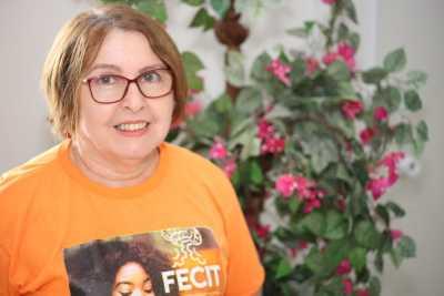 Maria de Lourdes Leôncio Macedo pontuou que a Feira é uma oportunidade de exposição dos talentos dos estudantes
