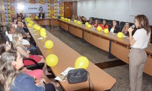 """Casa Civil, promoveu na tarde desta sexta-feira, 20, uma palestra aos servidores da pasta sobre """"A Importância da Saúde Mental"""""""