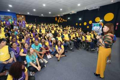 Titular da Seduc, Adriana Aguiar destacou a importância de fomentar o paradesporto nas escolas