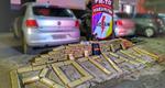 Polícia Militar apreende mais 120 quilos de drogas durante final de semana