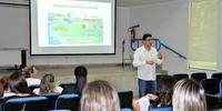 Presidente da Agência Tocantinense de Saneamento (ATS), Romis Alberto, ministrou palestra sobre Saneamento Básico