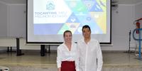 ATR recebeu O presidente da ATS, Romis Alberto, como palestrante do segundo encontro