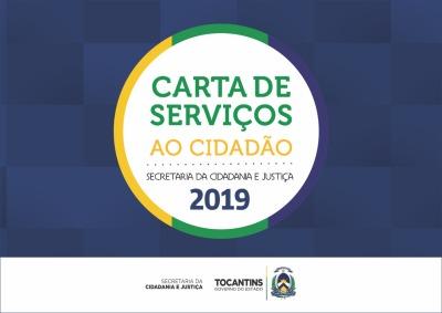 Carta de Serviços ao Cidadão - Seciju 2019