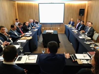 Nivair Borges na reunião do CONPEG em Fortaleza