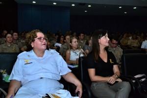 Tenente-coronel Juliana Corgozinho destacou a importância do acompanhamento dos casos