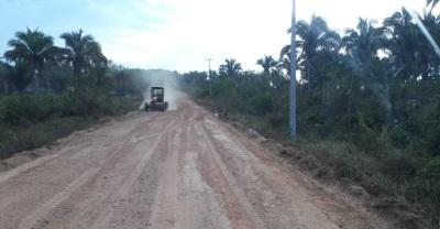 As intervenções beneficiam os moradores das aldeias Macaúba, Santa Izabel, Fontoura e JK