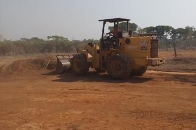 Na rodovia TO-134, que liga a sede do município de São Miguel do Tocantins ao povoado de Jatobal.
