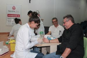 Presidente do Naturatins participa de teste rápido de hepatite C na sede do órgão