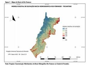 Figura 2 – Mapa da Bacia do Rio Formoso_Fonte – Pesquisa Caracterização Morfometrica da Bacia Hidrográfica Rio Formoso no Estado do Tocantins_300.jpg
