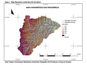 Figura 2 – Mapa Hipsométrico da Sub-Bacia Rio Providência_ Fonte – Pesquisa Caracterização Morfométrica da Sub-Bacia Hidrográfica Rio Providencia no Estado do Tocantins_300.jpg