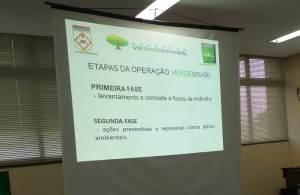 Etapas da Operação Verde Brasil