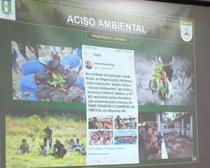 Ações ambientais na Amazônia Legal