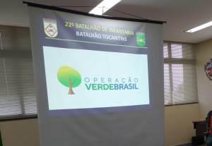 Apresentação da Operação Verde Brasil