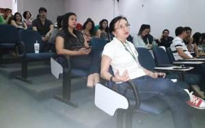 """""""Optamos em trazer um profissional da saúde para nos relatar a importância da saúde mental no ambiente de trabalho"""", disse Nilza Verônica"""